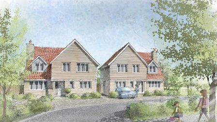 The first new homes built by Herts Living Ltd are planned for Shephall Green, Stevenage. Picture: He