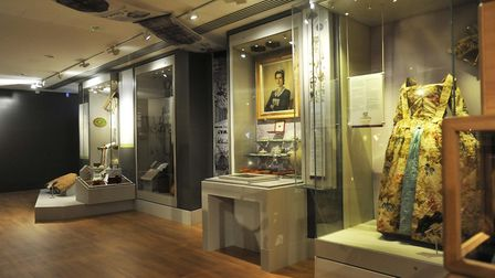The museum's displays showcase a huge part of the history of Hertfordshire. Picture: Alan Millard