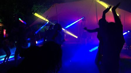 Westonbury Festival 2019 had people partying all night. Picture: Friends of Weston School