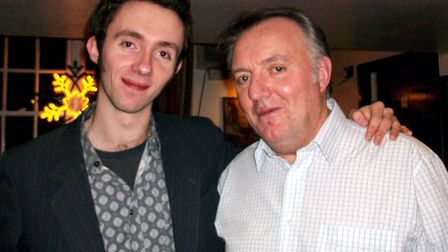 """David said dad Barry was """"always in the audience, and still is"""". Picture: Gemma Poole"""