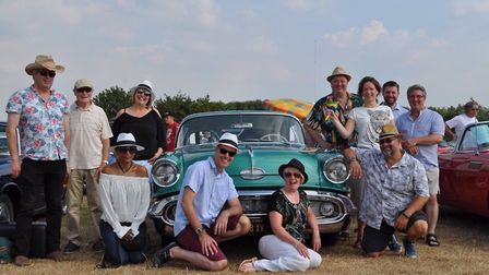 The Cubanauts will be returning to Hitchin to play at this weekend's Rhythms of the World 2019. Pict