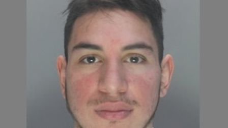 Julian Borja (29) was sentenced to seven and a half years at St Albans Crown Court. Picture: Herts P