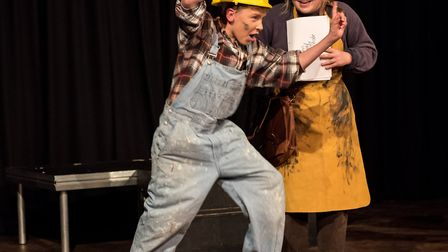 A Midsummer Night's Dream was performed by pupils at Saffron Walden County High. Picture: SAFFRON PH