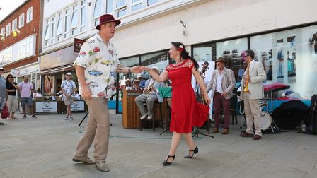 Dancing in the street. Picture: Strand PR