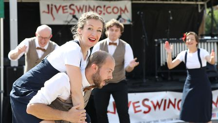 All smiles at the Letchworth Vintage Festival 2019. Picture: Strand PR