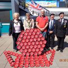 The Royal British Legion Stevenage Branch raised £1,310 at the Stevenage Armed Forces Day stall last