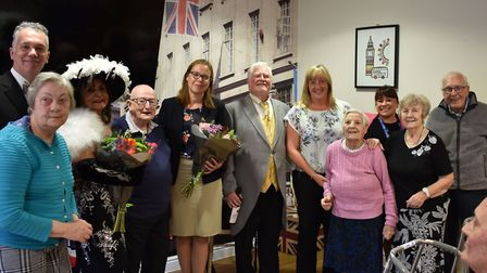 Residents of Jubilee Court mixing with the Connaught Opera's performers. Picture: Quantum Care