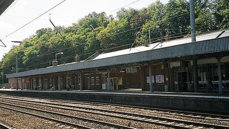Services passing through Hitchin and Cambridge have been affected by hot track temperatures. Picture