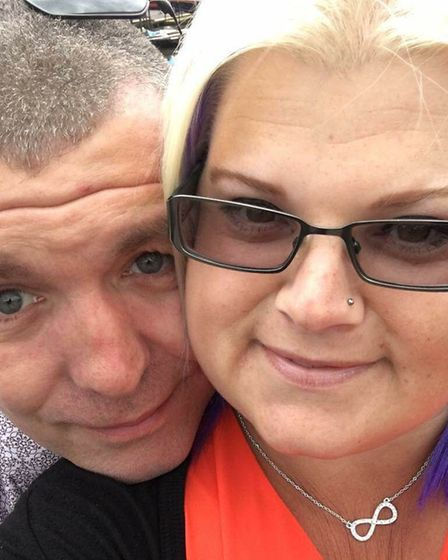 Greig and Lynsey Langdon. Picture: Lynsey Langdon