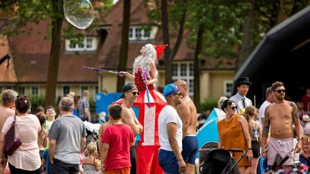 Last year's Park Live, which concluded the Letchworth Festival for 2018. Picture: Katarzyna Palczyns