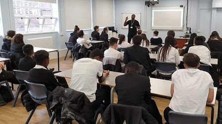 Pupils from Highfield and Fearnhill Schools in Letchworth will be attending anti-knife and gang crim