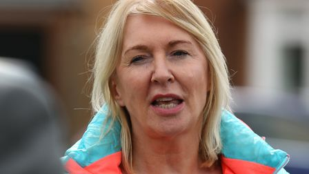 Mid Beds MP Nadine Dorries. Picture: Danny Loo