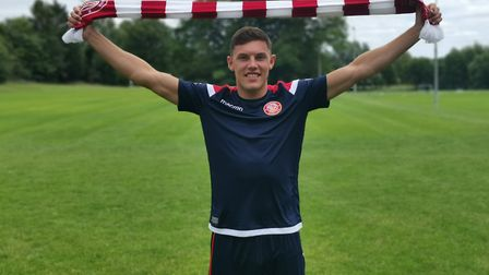 Paul Digby has signed for Stevenage. Picture: Stevenage FC