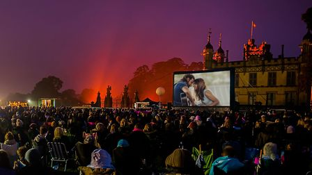 How A Star is Born might look at The Luna Cinema at Knebworth House. Picture: The Luna Cinema.