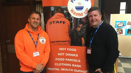 F1's David Croft attended the drop-in after being left inspired by Shane's story at the Comet Commun