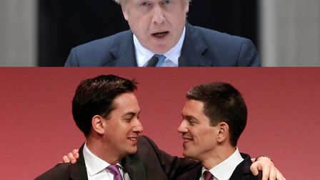 """Boris Johnson once said """"only a socialist"""" could consider backstabbing his brother, in comments aime"""