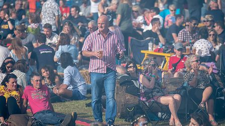 The crowd at Todd in the Hole Festival. Picture: Martin Wootton