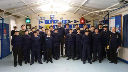 Stevenage Sea Cadets have launched an appeal to raise £10,000 to help facilitate the relocation of t