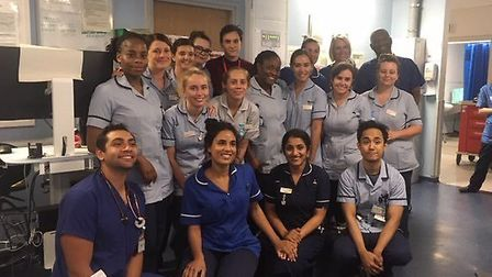 Members of Lister Hospital's Emergency Department have been praised for their response to Thursday n
