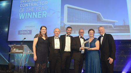 Letchworth's Willmott Dixon brings home Environmental Contractor of the Year Award at the Constructi