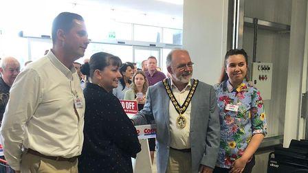 Costco Wholesale opened its warehouse doors in Stevenage yesterday. Picture: Costco Wholesale Steven