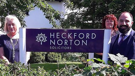 Heckford Norton Solicitors are celebrating their 100th anniversary this year. Picture: Alex Graham