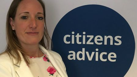 Nina Villa will be moving on from her role as chief executive soon. Picture: Citizens' Advice.