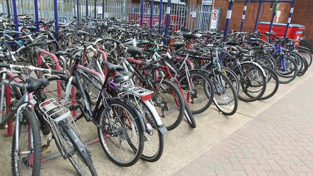 Hitchin and Stevenage railway stations have recorded the most bike thefts in our area since 2016. Pi