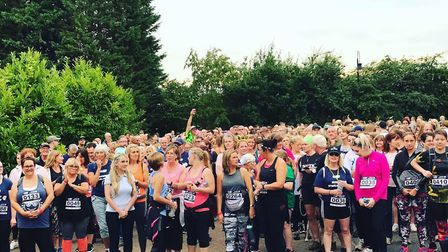 Hundreds turned out for Garden House Hospice Care's tenth year of Starlight Walk. Picture: Garden Ho