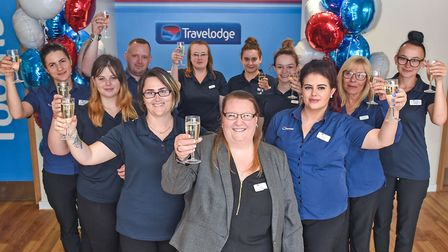 Letchworth's Travelodge branch has opened, creating 22 new jobs. Picture: Travelodge