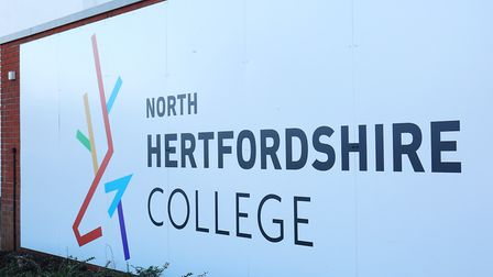 North Hertfordshire College has announced plans to invest £5 million into sports facilities. Picture