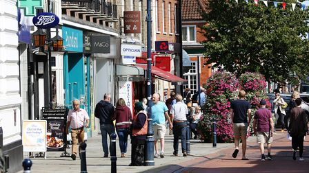 Hitchin's high street will be hoping to be crowned the UK's best. Picture: DANNY LOO