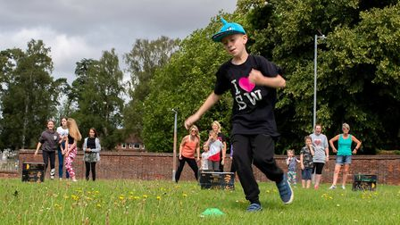 Members from Letchworth, Hitchin and Codicote Slimming World groups took part in a sports day to cel