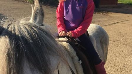 Rowen Riddett has a life-limiting genetic condition, but that doesn't stop her being a fun-filled li