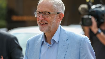 Leader of the Labour Party Jeremy Corbyn MP meets small businesses and business start-ups at the Bus