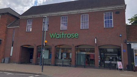 Stevenage's Waitrose store will permanently close on October 27. Picture: Maya Derrick