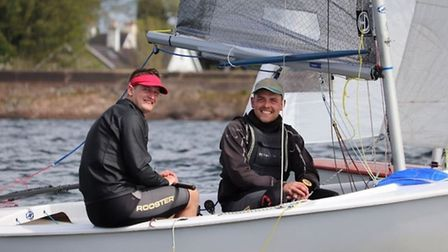 It's all smiles ahead of the 24-hour race. Picture: Beth Tate.