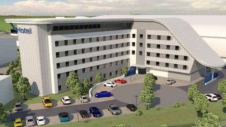 An artist's impression of how the new hotel development could look. Picture: CONTRIBUTED