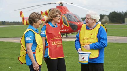 Essex & Herts Air Ambulance Trust is raising awareness and funds in Stevenage and North Herts for Na