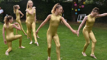 Dance Steps Academy from Letchworth performed at the event. Picture: Alan Millard