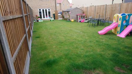 The garden transformation project taking shape in Newport. Picture: CONTRIBUTED