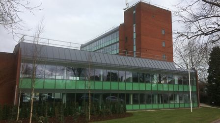 North Herts District Council offices in Gernon Road, Letchworth. Picture: North Herts District Counc