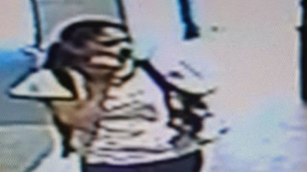 Police want to trace this woman as they believe she may have information about a theft in Stevenage