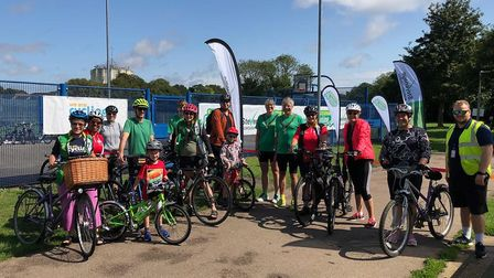 Hundreds get into the spirit of Stevenage's annual Cycling Festival. Picture: Stevenage Borough Coun