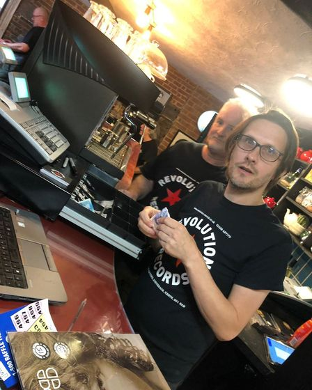 Prog rock star Steven Wilson 'working' at Revolution Records