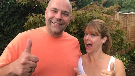 Liz and Michael will be taking part in Strictly Come Movies for Garden House Hospice Care. Picture:
