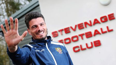 Stevenage legend Ronnie Henry would be a popular if untested choice as manager. Picture: DANNY LOO
