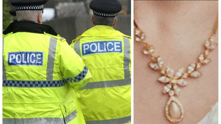 Police are appealing for anyone who may have come across the necklace to come forward. Pictures: Arc