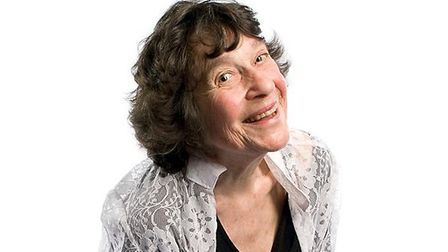 Lynn Ruth Miller will appear at Doggett & Ephgrave's Mostly Comedy night in Hitchin Town Hall