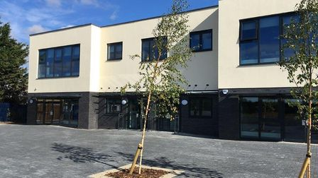 The new purpose-built site at Etonbury Academy. Picture: James Cunliffe